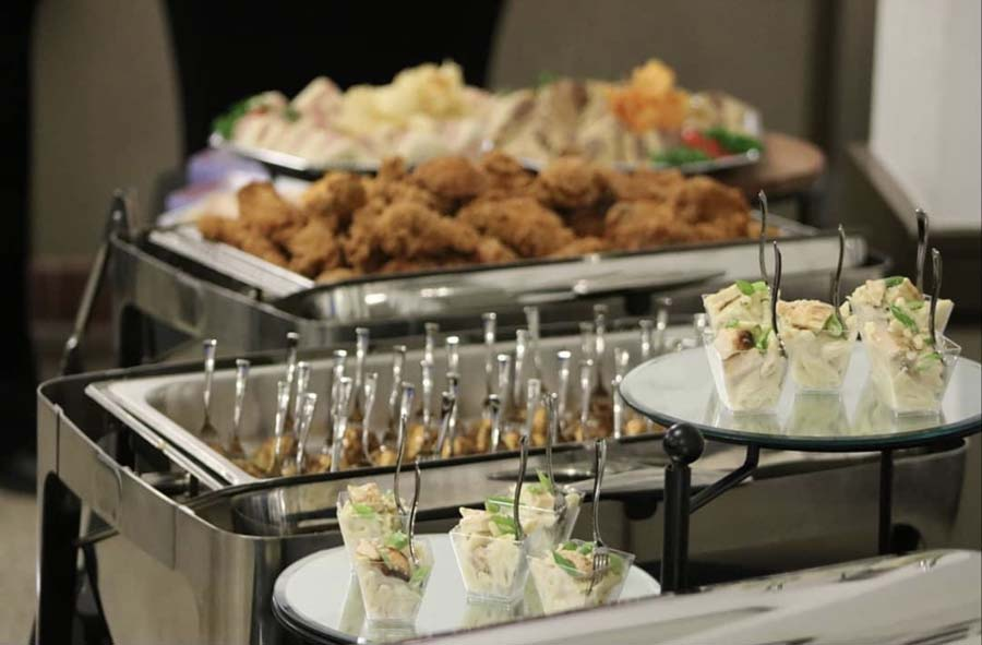 Buffet Set up houston caterer