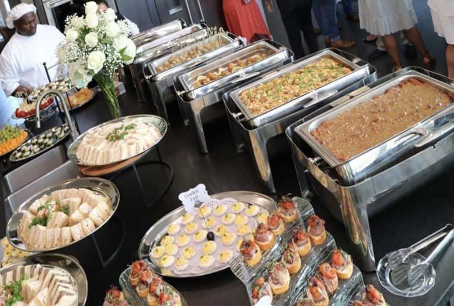 Houston food server buffet