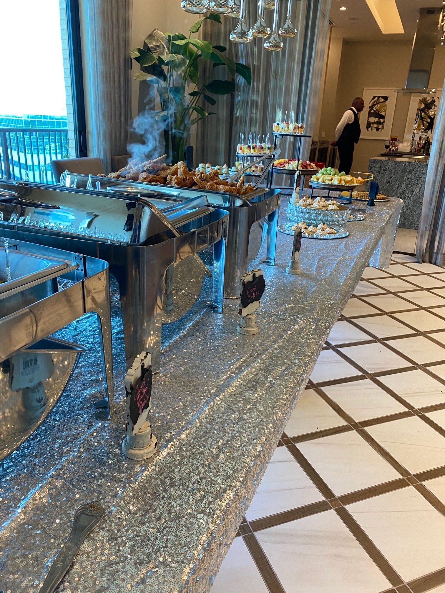 Set up elegant event with wait staff houston